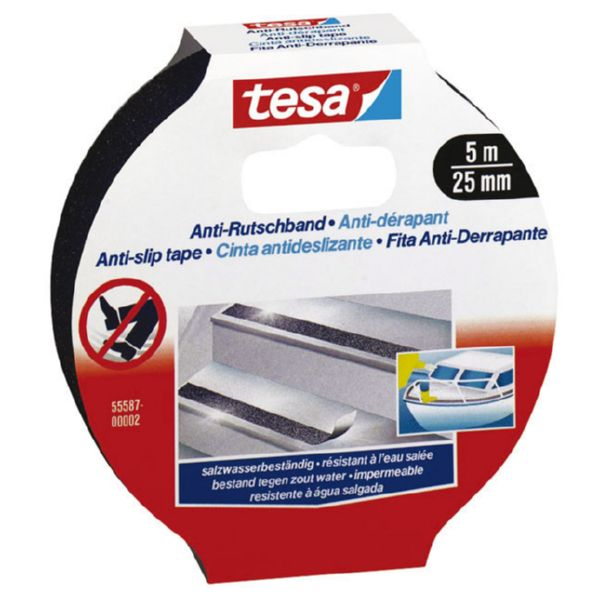 ANTIDESLIZANTE NEGRO TESA 5 MX25 MM 5558702 (6)