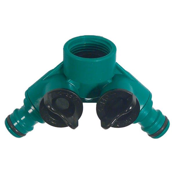 DISTRIBUIDOR GRIFO 2 VIAS PROFER GREEN  PG0236