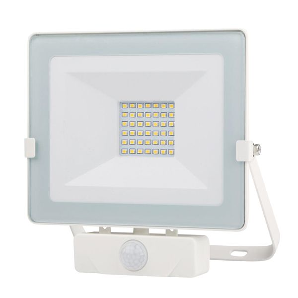 FOCO LED BLANCO IP65 C/SENSOR 30 W