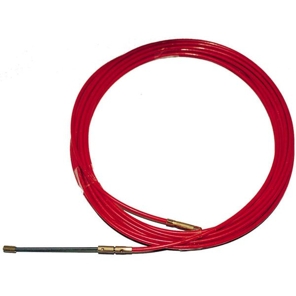 PASACABLES ACERO-NYLON 4 MM ATM 20 M 760020 ROJO