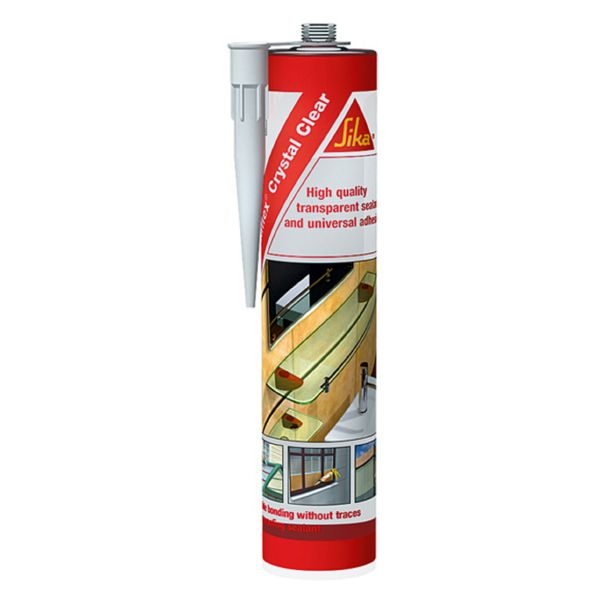 SELLADOR POLIURETANO TRANSPARE SIKA 300 ML 473233
